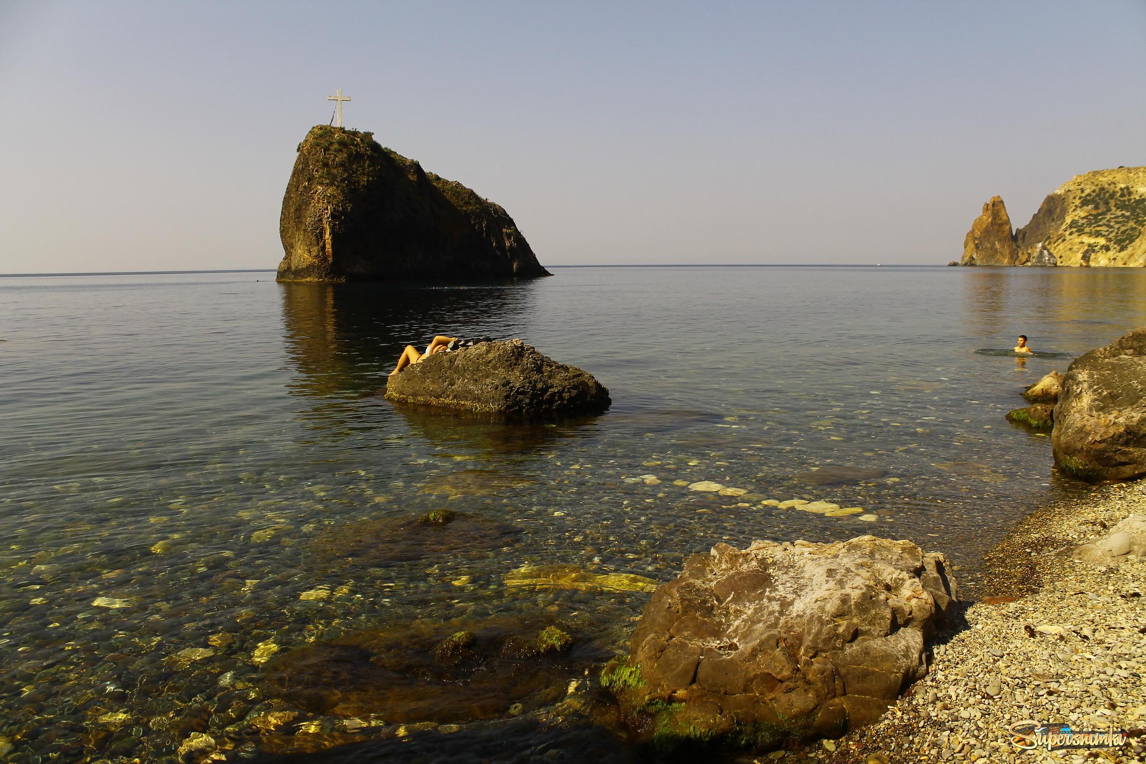 Фото пляжа на фиоленте