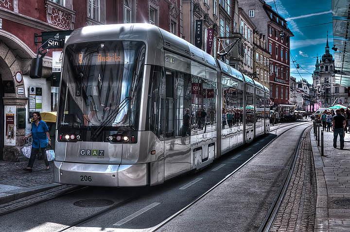 Трамваи в Австрии - основа городского транспорта