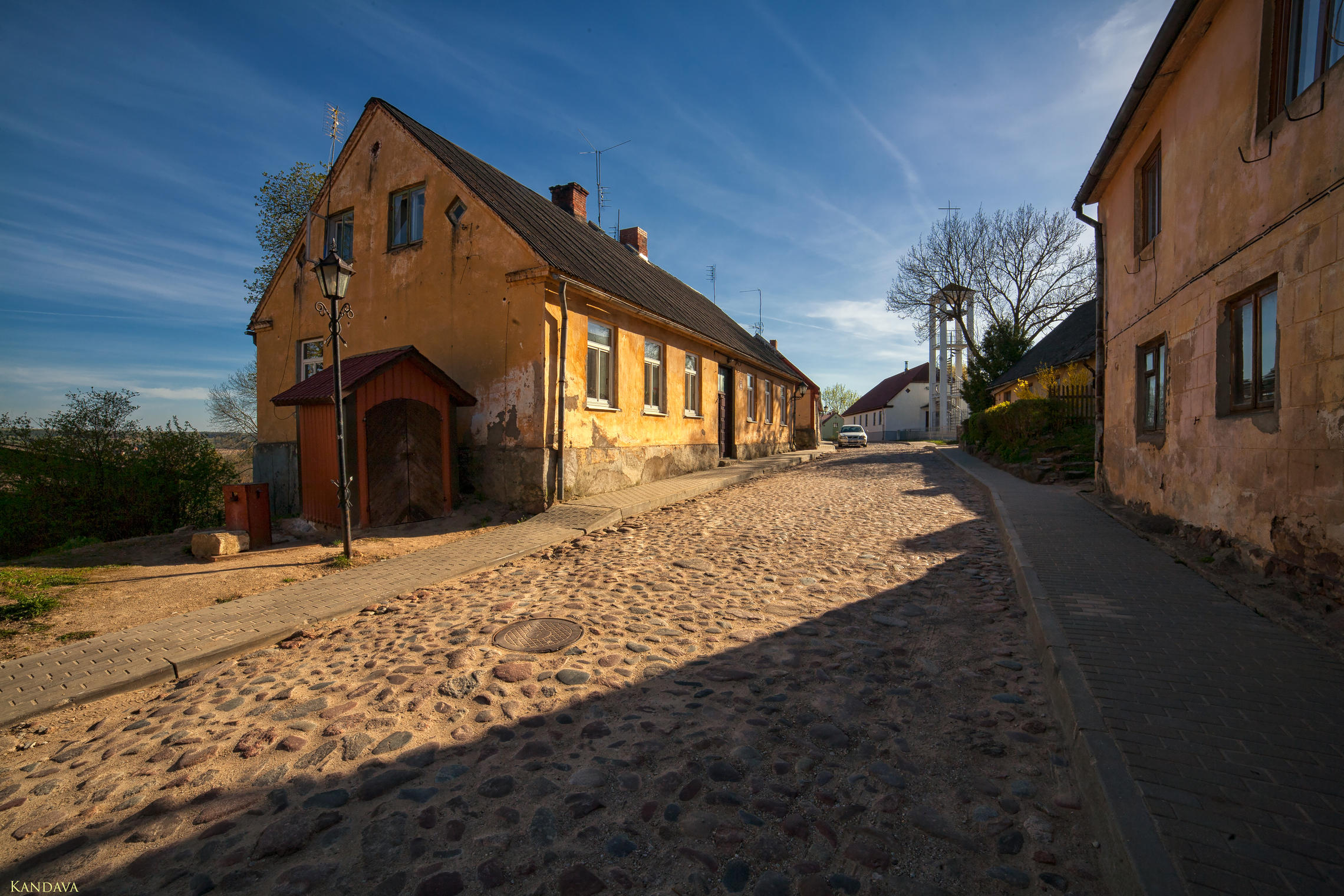 Kandava, small Latvian city
