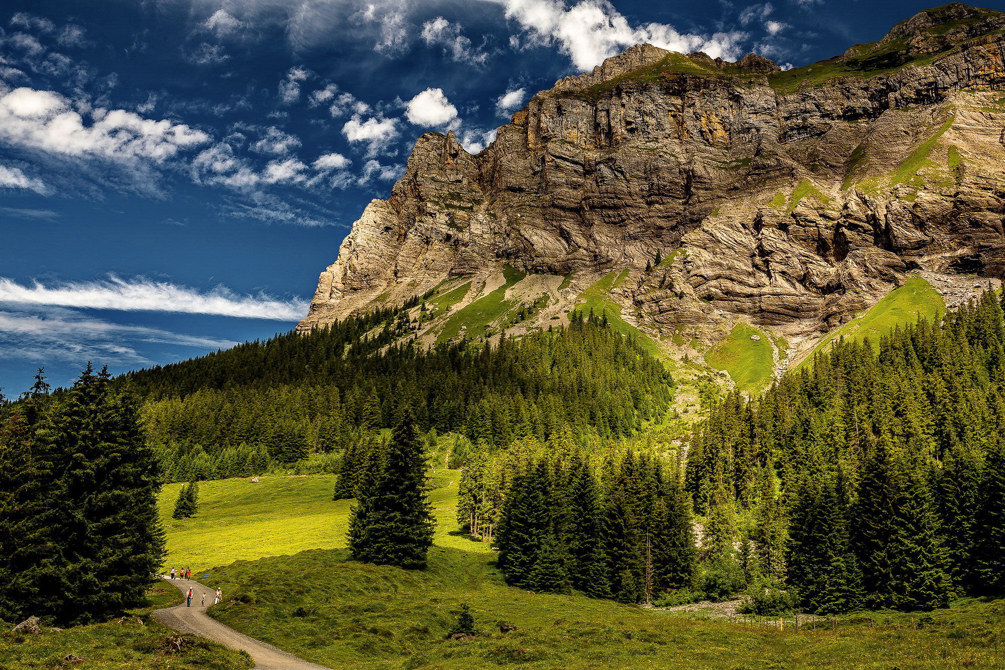 The Alps 2014-Switzerland-Kandersteg 1