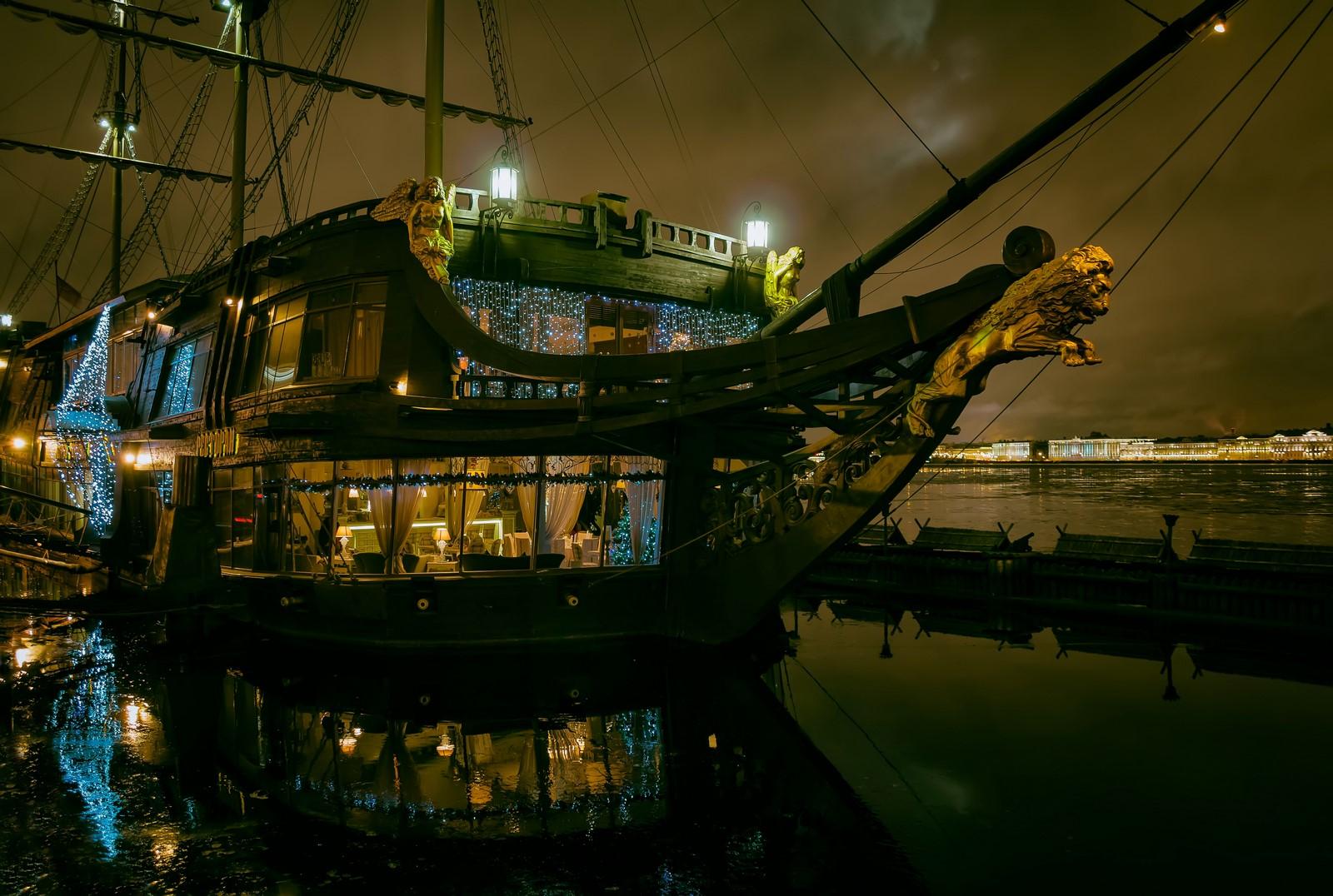 сообщил питер фото ресторан корабль фотографы