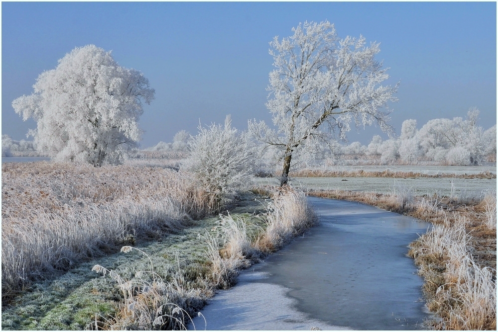 Winter in Belgium.