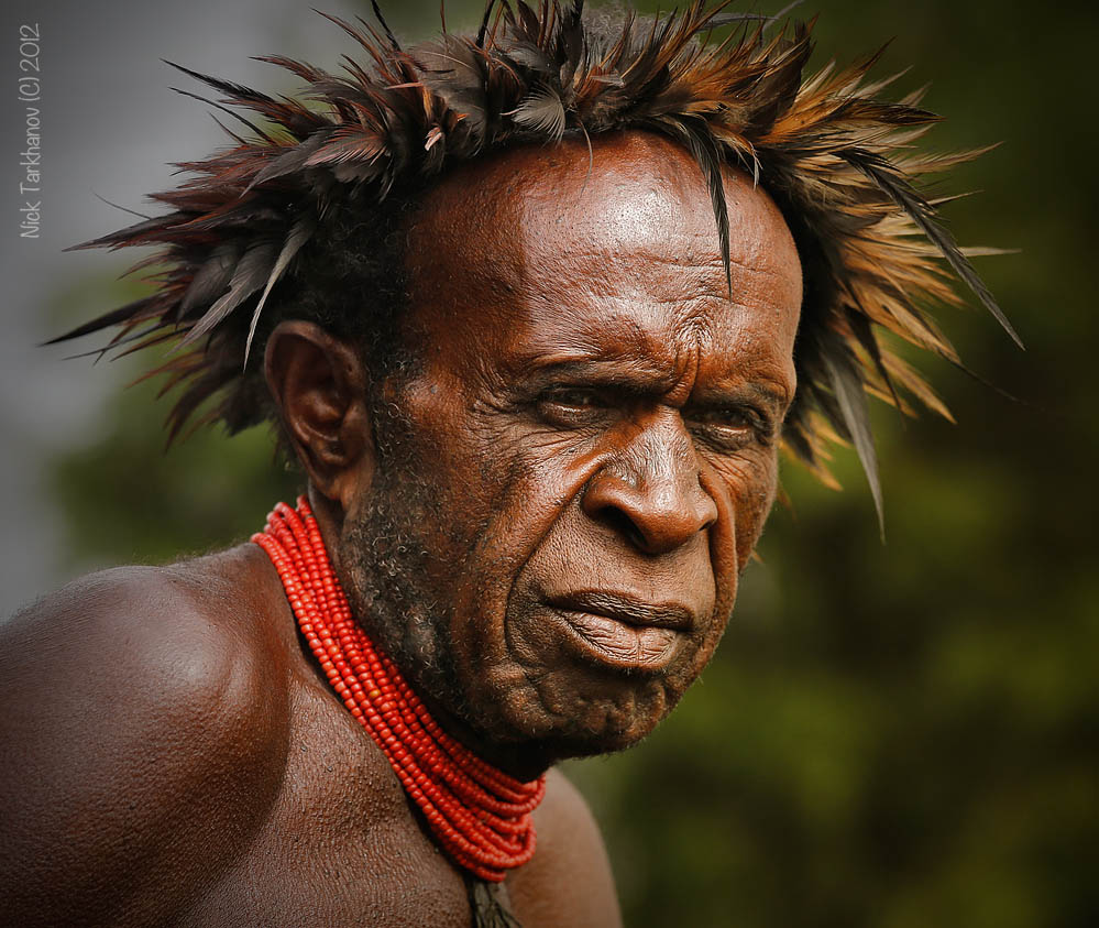 Man from New Guinea.