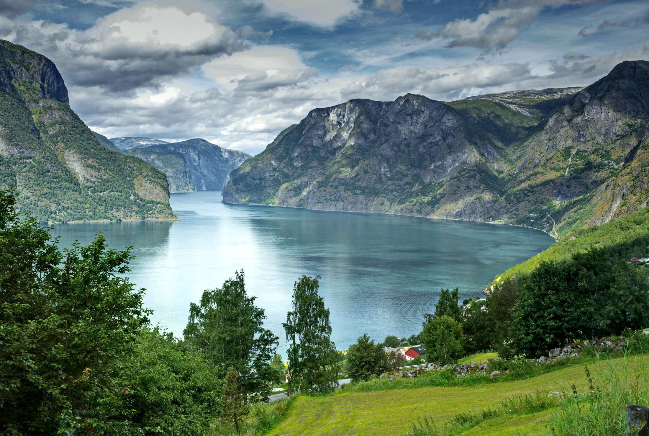 пейзажи норвегии фото раз