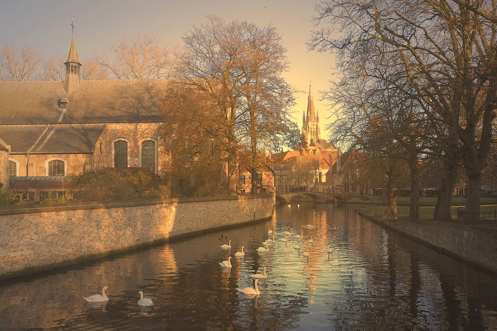 A morning in Bruges.