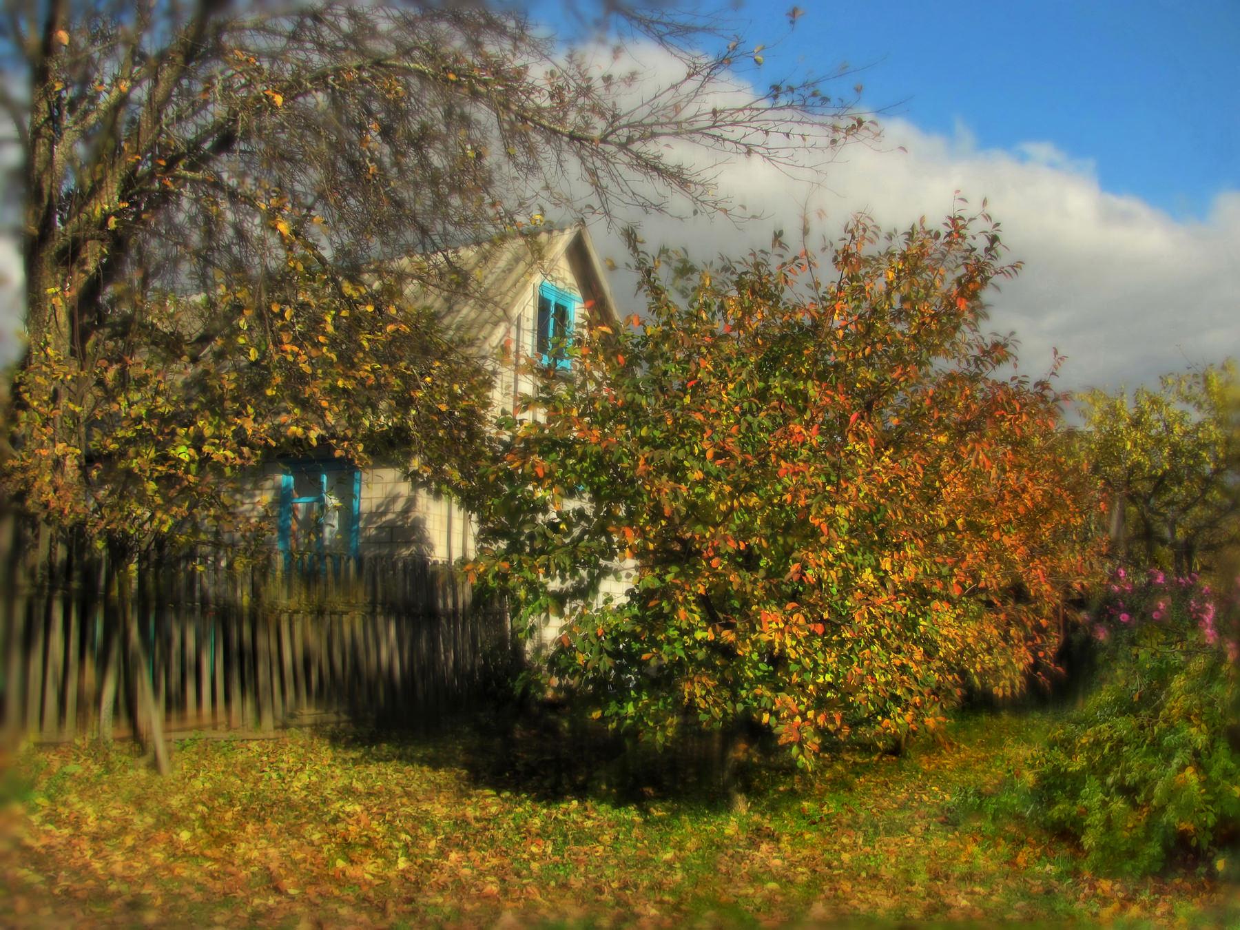 конечно картинки поздняя осень на даче этого, сформировался