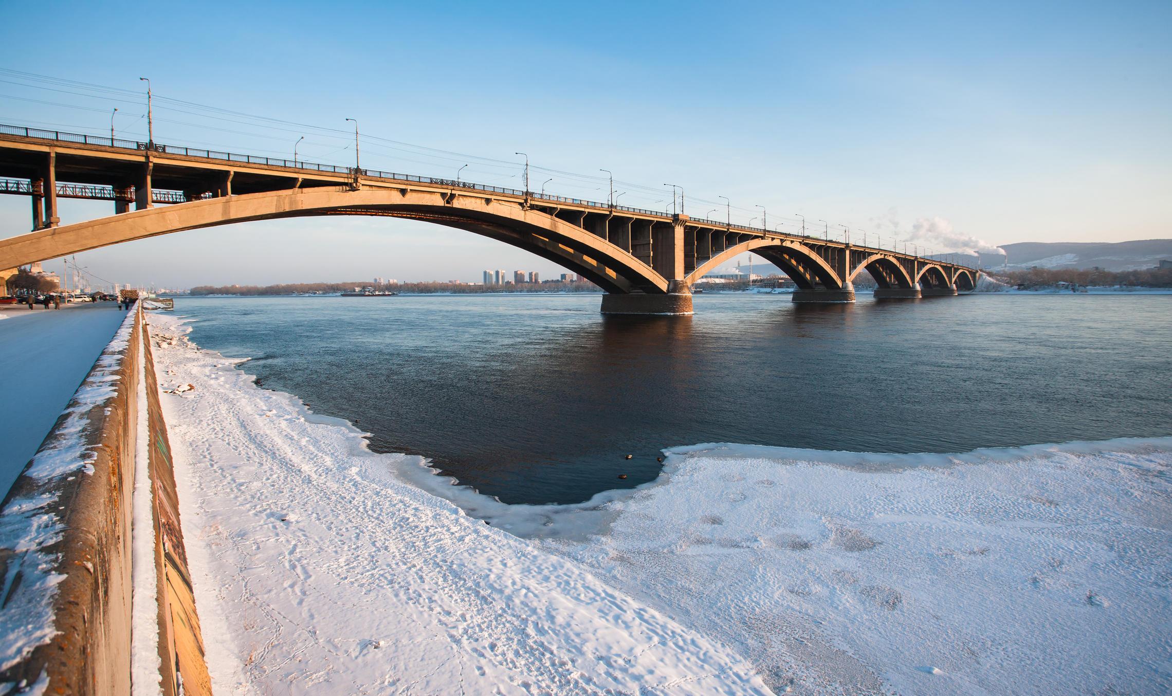 картинка коммунальный мост новосибирск каждый
