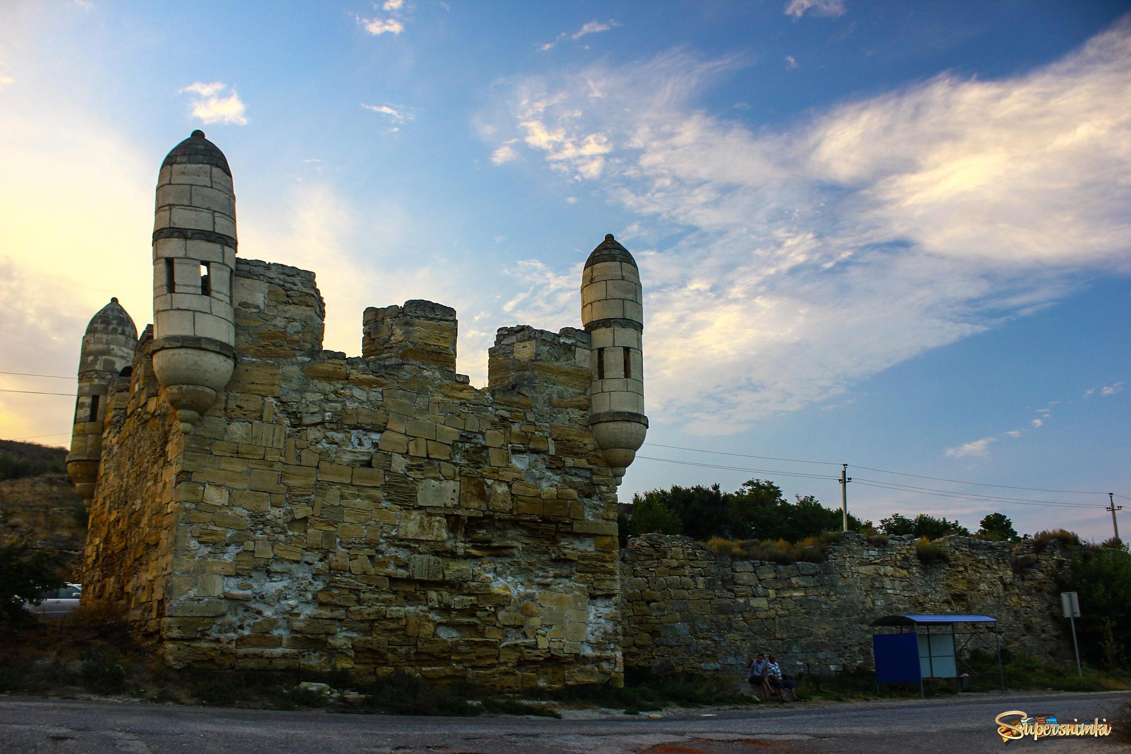 Как выглядела крепость царя фатеев арифарна фото наземные