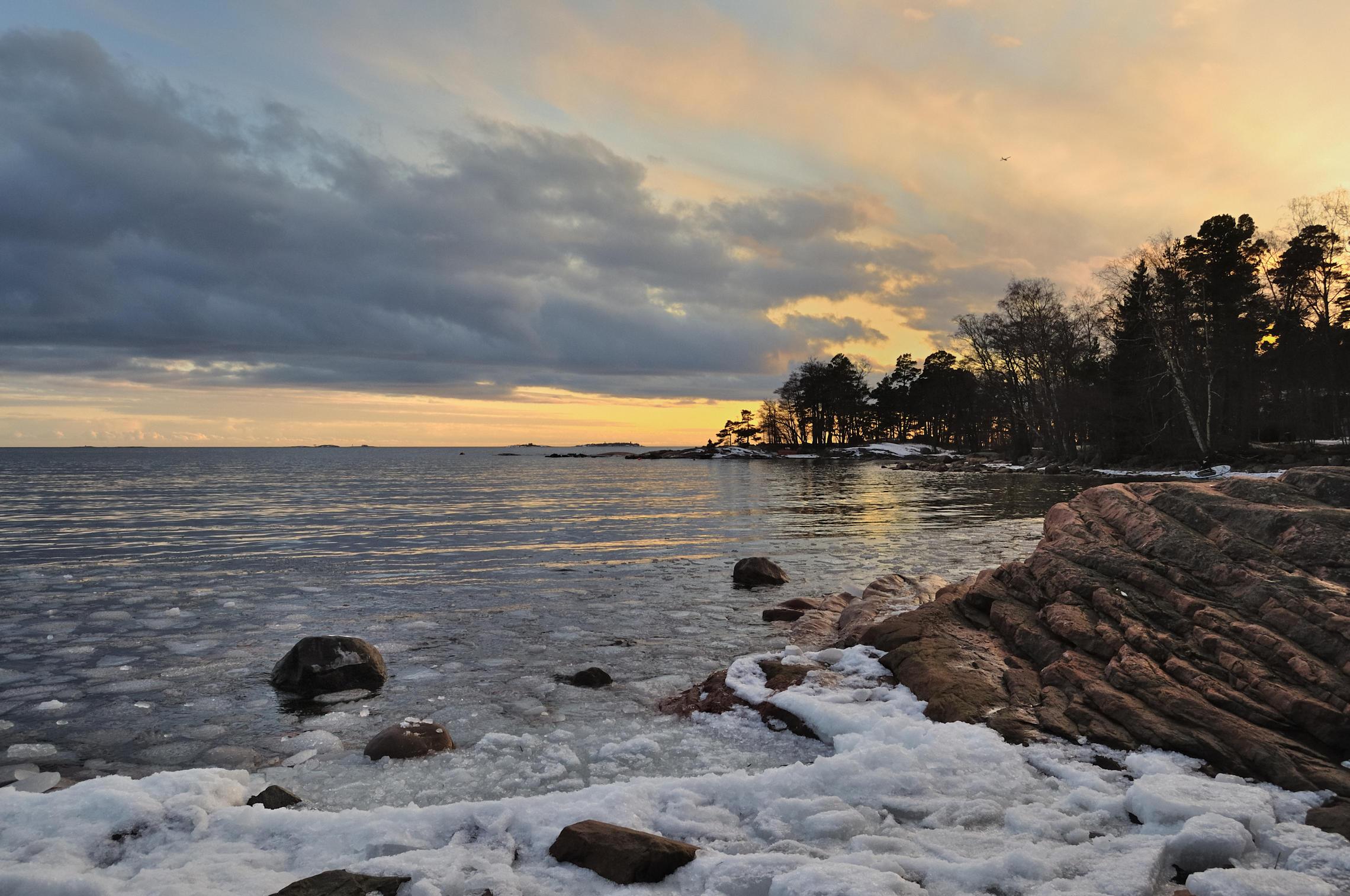 финский залив фото сегодня яркой